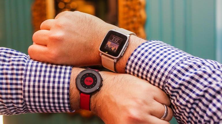 pebble time round 17 - Geçmişten Günümüze Akıllı Saatler