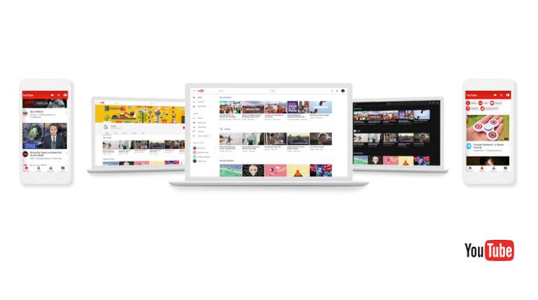 youtube yeni tasarim 770x430 - Youtube Tasarımını Değiştirdi