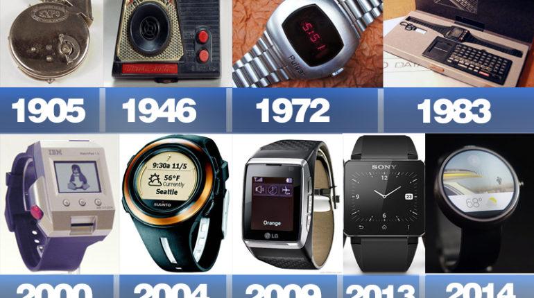 akilli saatin evrimi 770x430 - Geçmişten Günümüze Akıllı Saatler