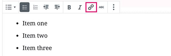 linkbutton - Gutenberg Nasıl Kullanılır?