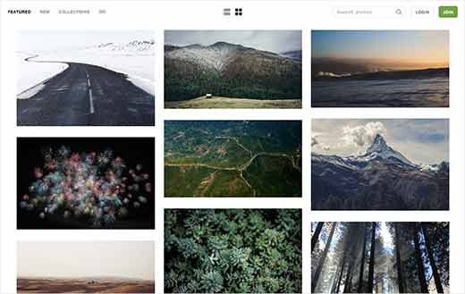 unsplash - Telifsiz Resimler Bulabileceğiniz 16 Website