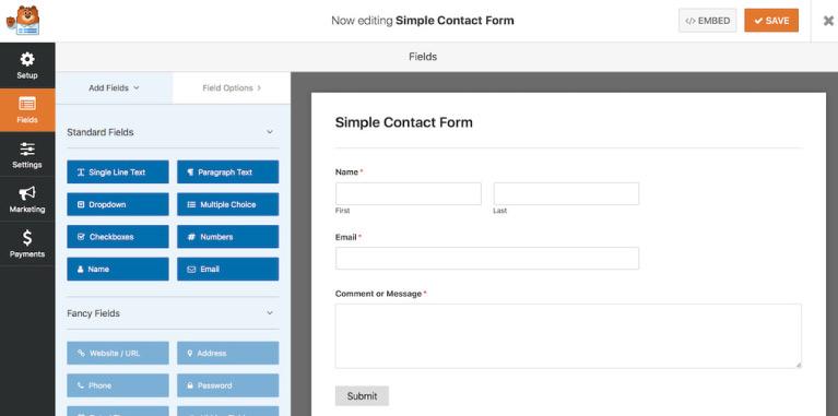 wp forms eklentisi - Wordpress Blog Oluşturma Rehberi