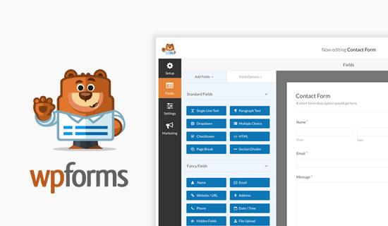 wpforms - En İyi Wordpress Eklentileri