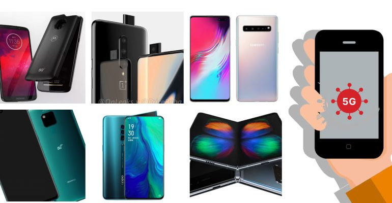 5g telefonlar 2019 770x400 - 5G Uyumlu Telefonlar 2020