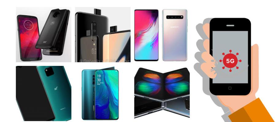 5g telefonlar 2019 - 5G Uyumlu Telefonlar 2020