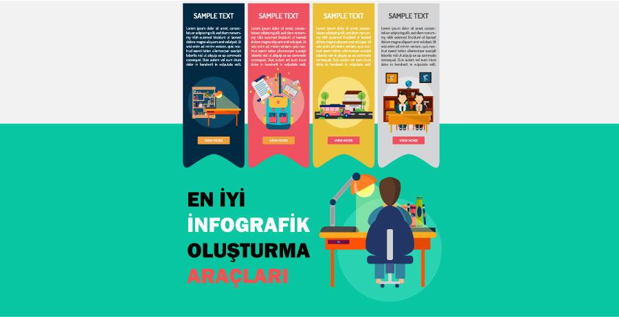 en iyi infografik makers - Ücretsiz İnfografik Oluşturma Araçları