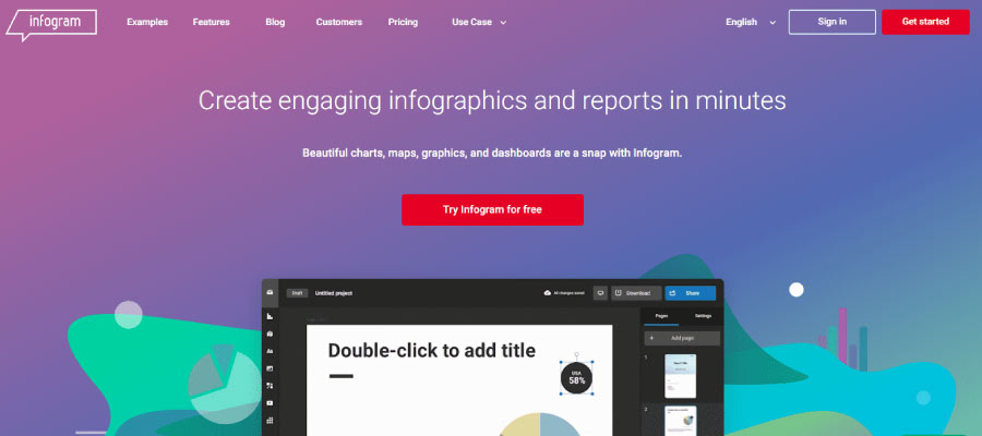 infogram - Ücretsiz İnfografik Oluşturma Araçları