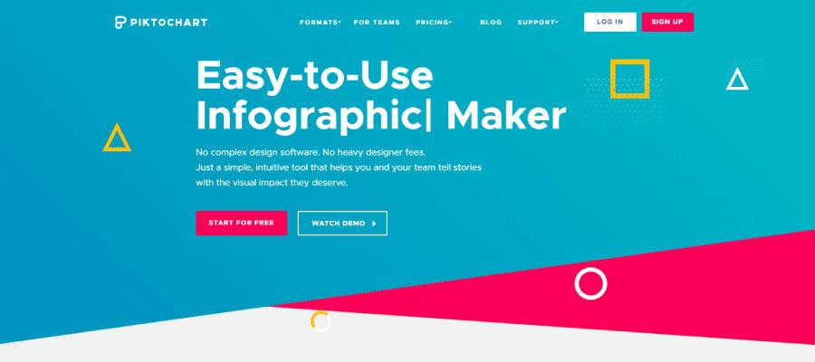pictochart - Ücretsiz İnfografik Oluşturma Araçları