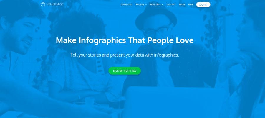 venngage - Ücretsiz İnfografik Oluşturma Araçları
