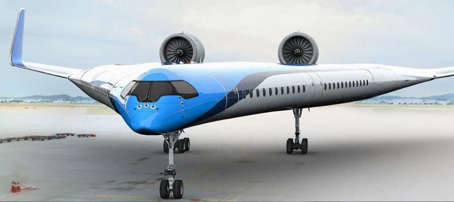 flaying v nedir - Kanatlarında Yolcu Taşıyan İlginç Tasarımlı Uçak