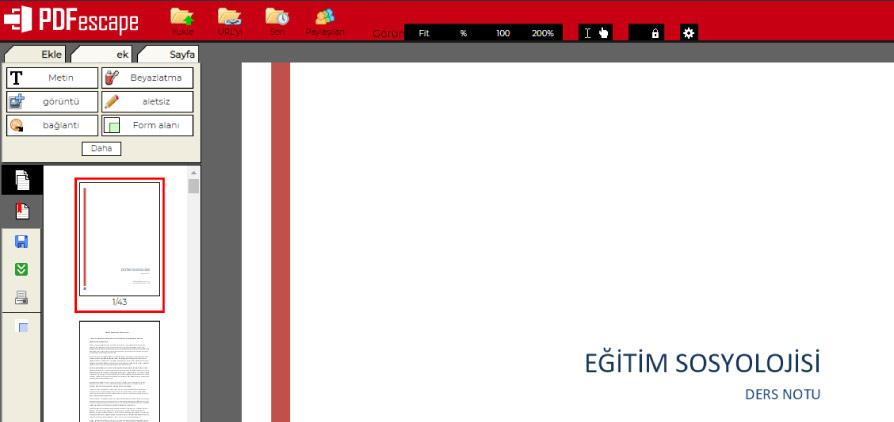 pdfescape pdf editor - En İyi Ücretsiz PDF Düzenleme Araçları