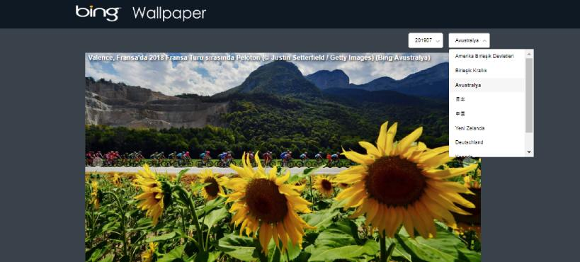 bing wallpaper gallery - En İyi Ücretsiz Wallpaper Siteleri