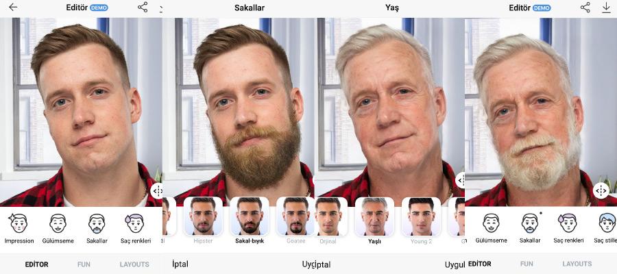 face app yaslandirma efekti - FaceApp Nedir? Nasıl Kullanılır?