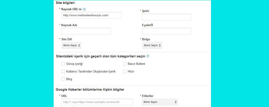 google news kayit - Haber Siteleri İçin Seo Optimizasyonu