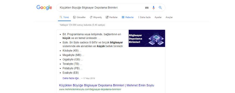google ozel pasaj - Haber Siteleri İçin Seo Optimizasyonu