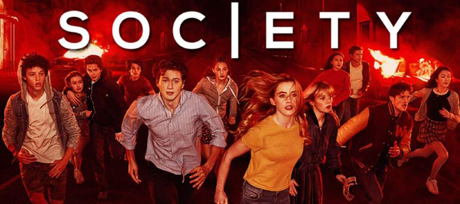 the society poster - En İyi Distopik Diziler