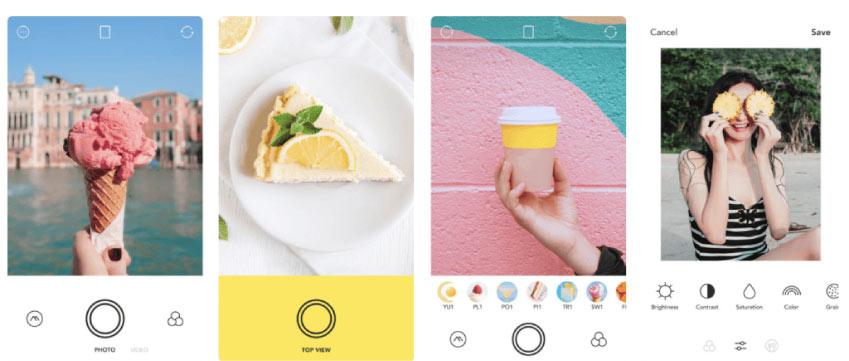foodie - En İyi Fotoğraf Düzenleme Uygulamaları 2020