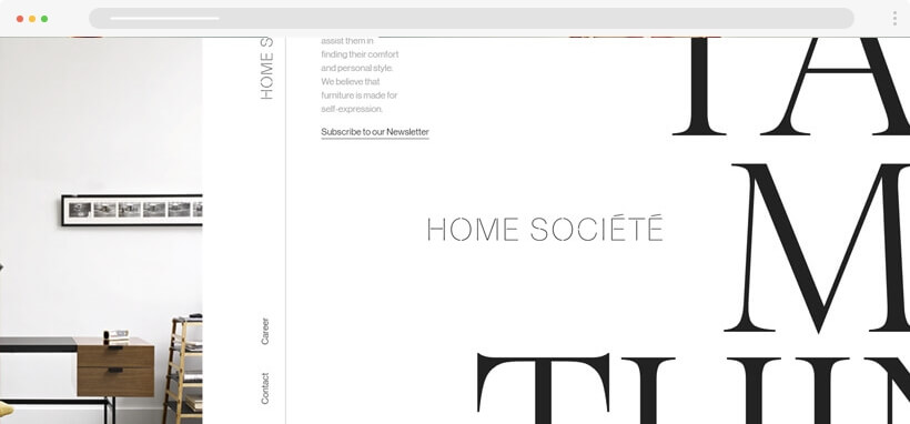 maxi tipografi - 2020 Web Tasarım Trendleri