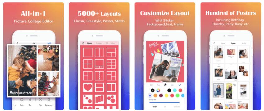 photo collage maker - En İyi Fotoğraf Düzenleme Uygulamaları 2020
