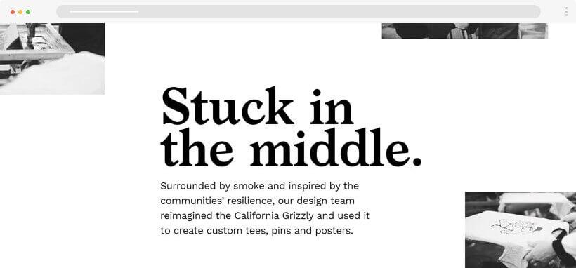 siyah beyaz tasarim - 2020 Web Tasarım Trendleri