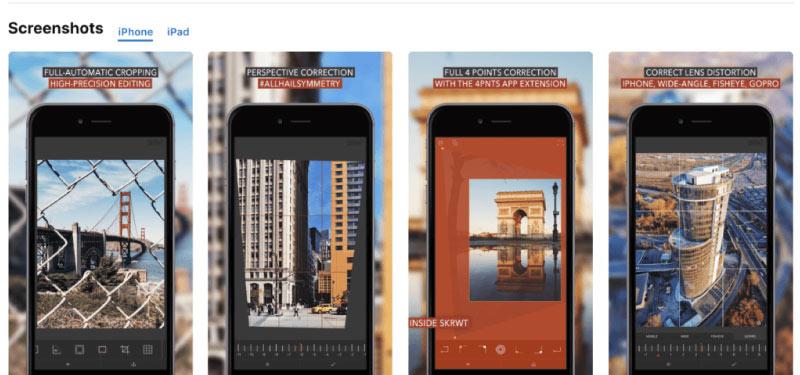 skrwt - En İyi Fotoğraf Düzenleme Uygulamaları 2020