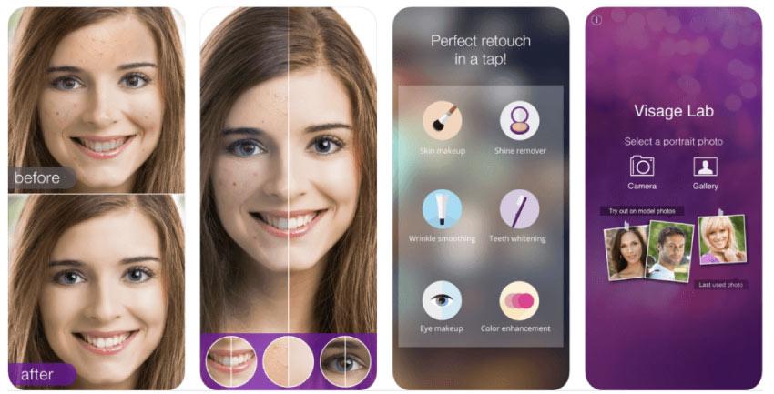 visage 1 - En İyi Fotoğraf Düzenleme Uygulamaları 2020