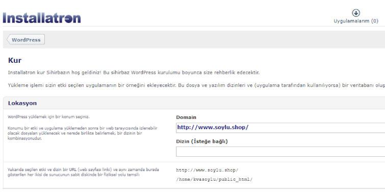 wordpress kurulumu otomatik - Wordpress Blog Oluşturma Rehberi