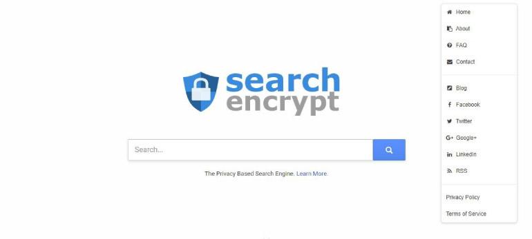 search encrypt - 2020 İtibarıyla En İyi Arama Motorları