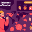 Koronavirüs hakkında infografik bilgiler yer almaktadır.