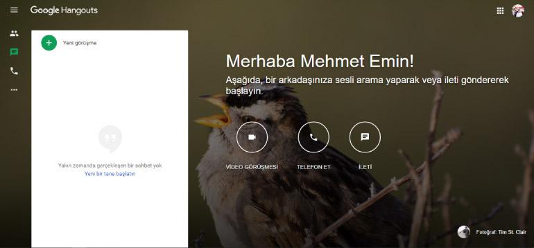 google hangouts - En İyi Ücretsiz Video Konferans Uygulamaları