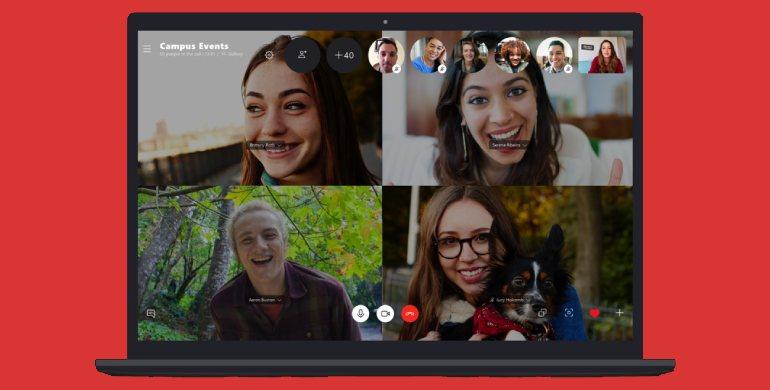 skype video konferans - En İyi Ücretsiz Video Konferans Uygulamaları