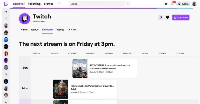 twitch planlama - Twitch Yeni Tasarıma Geçiyor