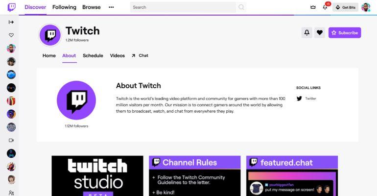 twitch tanitim sayfasi - Twitch Yeni Tasarıma Geçiyor